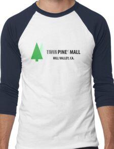 Twin Pines/Lone Pine Mall – BTTF, Optical Illusion Men's Baseball ¾ T-Shirt