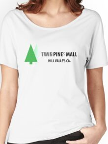Twin Pines/Lone Pine Mall – BTTF, Optical Illusion Women's Relaxed Fit T-Shirt