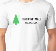 Twin Pines/Lone Pine Mall – BTTF, Optical Illusion Unisex T-Shirt