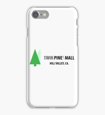 Twin Pines/Lone Pine Mall – BTTF, Optical Illusion iPhone Case/Skin