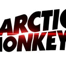 Arctic Monkeys Logo with Design  Sticker