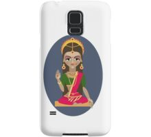 illustration of Hindu deity mother Parvati Samsung Galaxy Case/Skin