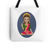 illustration of Hindu deity mother Parvati Tote Bag