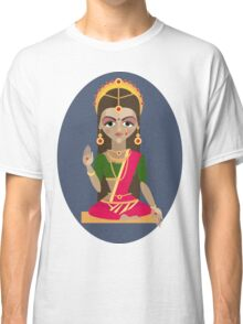 illustration of Hindu deity mother Parvati Classic T-Shirt