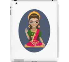 illustration of Hindu deity mother Parvati iPad Case/Skin