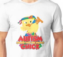 Autism Messed With The Wrong Chick Unisex T-Shirt