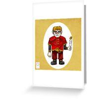 The Halfman Greeting Card