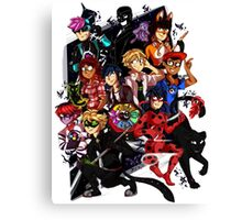 Tales Of Ladybug and Chat Noir Canvas Print