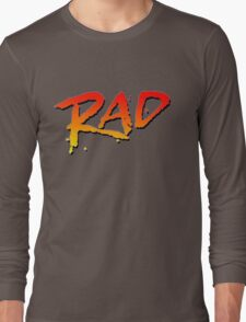 RAD BMX MOVIE 1986 Long Sleeve T-Shirt