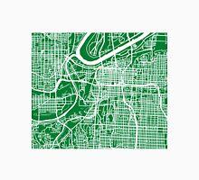 Kansas City Map - Green Unisex T-Shirt