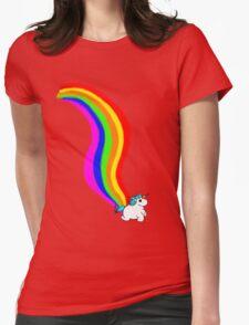 Raimbow of Unicorn Womens Fitted T-Shirt
