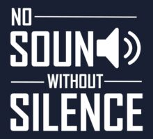 The Script - No Sound Without Silence White by estellanoire