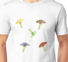 Fun Toadstools Unisex T-Shirt