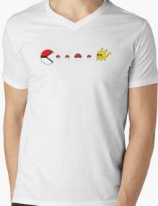 Pokemon Go - PacMon series Mens V-Neck T-Shirt