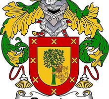 Ramirez Coat of Arms / Ramirez Family Crest by William Martin