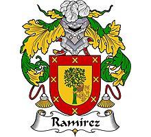 Ramirez Coat of Arms / Ramirez Family Crest Photographic Print
