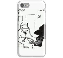 Job Interview Ape iPhone Case/Skin