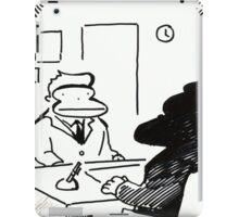 Job Interview Ape iPad Case/Skin