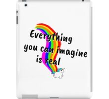 Rainbow of Unicorn is everything you want from life iPad Case/Skin
