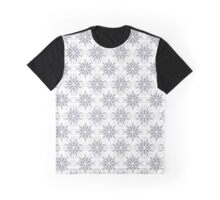 Art deco pattern with abstract flowers. Chic and elegant vintage print with flourish decor, floral motif Graphic T-Shirt