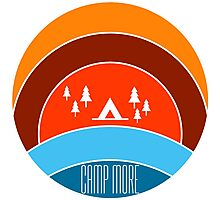 Camp More Photographic Print