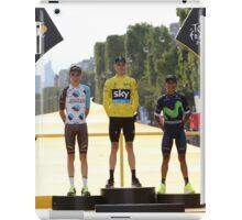 Tour de France 2016-podium iPad Case/Skin