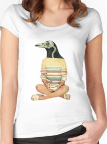 Crow head Women's Fitted Scoop T-Shirt