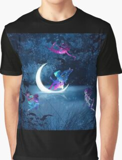 Violet Glow Graphic T-Shirt