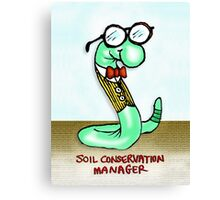 Soil Conservation Manager Canvas Print