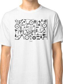 Bike Parts Landscape by Sooko Classic T-Shirt