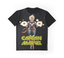 CAPTAIN MARVEL THE WOMAN SUPERHERO IN AMERICA Graphic T-Shirt