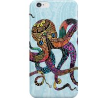 Electric Octopus iPhone Case/Skin