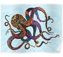 Electric Octopus Poster