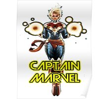 CAPTAIN MARVEL THE GREAT WOMAN SUPERHERO Poster