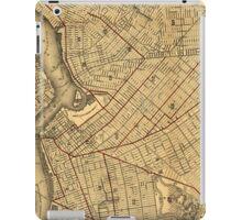 Vintage Map of Brooklyn New York (1874) iPad Case/Skin