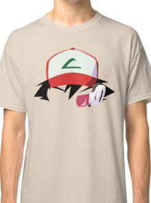 Ash with Scouter Classic T-Shirt