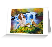 The Sacred Spring Greeting Card