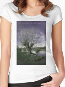 Fear The Whomping Willow Women's Fitted Scoop T-Shirt
