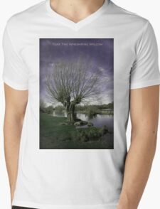 Fear The Whomping Willow Mens V-Neck T-Shirt