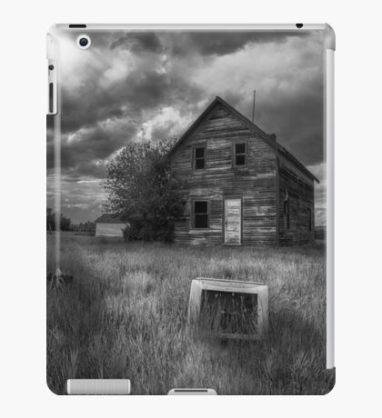 Target Practice - BW iPad Case/Skin