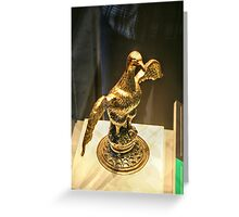 The Golden Duck Greeting Card