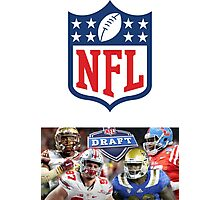 NFL american football Photographic Print