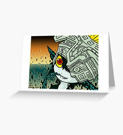 Midna Greeting Card