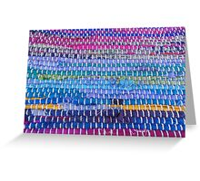 Hand-Woven Excellence Greeting Card