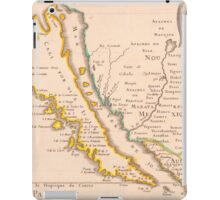 Vintage Map of California (1657) iPad Case/Skin