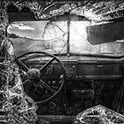 Seen Better Days - BW by Patrick Kavanagh