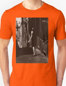 Smoking Lady Unisex T-Shirt