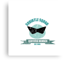 Squirtle Squad - Member Canvas Print