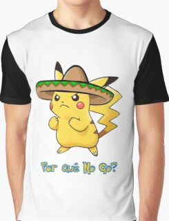 Pokemon Go Mexican Pikachu Graphic T-Shirt