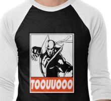 Iron Fist Toouuooo Obey Design Men's Baseball ¾ T-Shirt